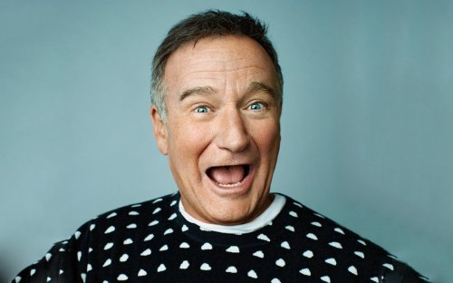 Robin Williams, par Peggy Sirota, pour le Parade (Source : http://parade.condenast.com/153682/dotsonrader/guess-whos-back-on-tv-robin-williams-returns-in-the-crazy-ones/)